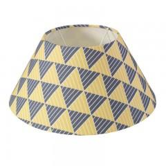 Blue and Yellow Lamp Shade