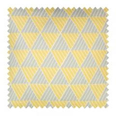 Grey Yellow Zig Zag Swatch